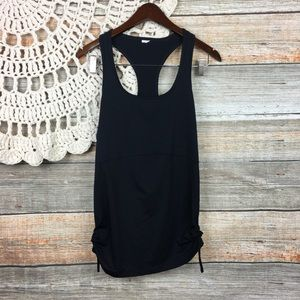 Fabletics | Ruched Side Racerback Athletic Tank